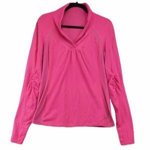 Lululemon size 12 pink long sleeve t shirt